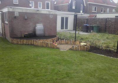 natuurlijk ogende tuin